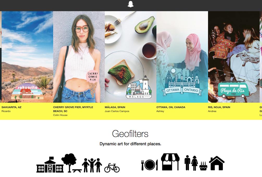 Geofilters On Demand: Com treure profit de la teva marca ambSnapchat